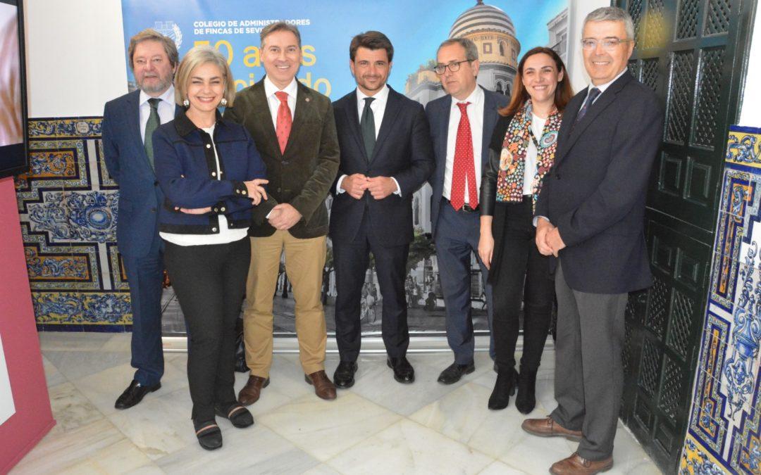 Visitas de los candidatos a la alcaldía de Sevilla