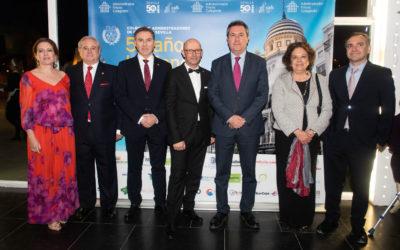 Los Administradores de Fincas reconocen a Sevilla con la Medalla de Oro de la corporación y al alcalde, Juan Espadas, como primer Administrador de la ciudad