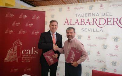 Firma de acuerdo con la Taberna Alabardero